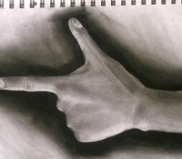 PointingFingerCharcoal